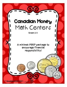 Canadian Money Math Centers
