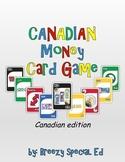 Canadian Money Math Identification Card Game
