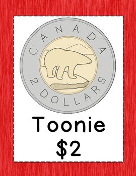 Canadian Money Posters and Coin Cutouts