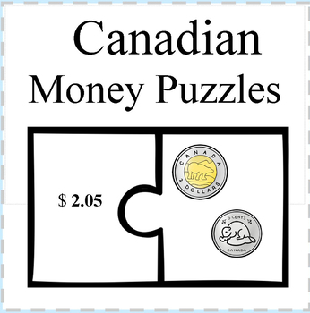 Canadian Money Puzzles