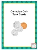 Canadian Money Task Cards