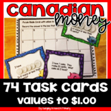 Canadian Money Word Problems Task Cards