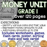 Canadian Money Unit - Grade 1