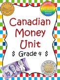 Canadian Money Unit Grade 4