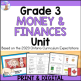 Canadian Money Unit (Grade 3) - Distance Learning