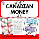 Canadian Money Unit for Grade 4 (Ontario Curriculum)