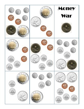 Canadian Money War Game