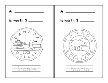 Canadian Money Workbook