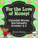 Canadian Money: Canadian Coins Activities