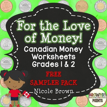 Canadian Money - Freebie!