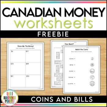 Canadian Money - Freebie!