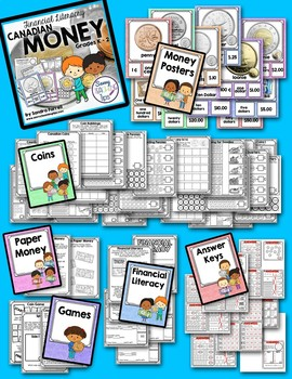 Canadian Money - a unit for Primary Grades