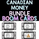 Canadian Money - Grade 1 BOOM CARDS
