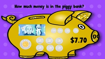 Canadian Money to $10 Shake It Off Game with Brain Breaks