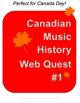 Canadian Music History Web Quest