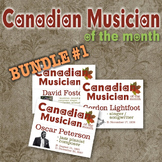 Composer / Musician of the Month - Canadian Ed. Bulletin Board Set - BUNDLE