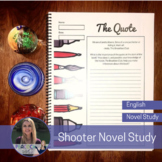 Canadian Novel Study - Shooter by Caroline Pignat