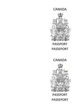 Canadian Passport Authentic Look