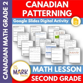 Canadian Patterning Lesson Plans