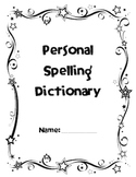 Canadian Personal Spelling Dictionary