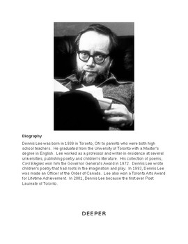 Canadian Poetry Section 2:  Lee, Clarke, Souster, Cogswell