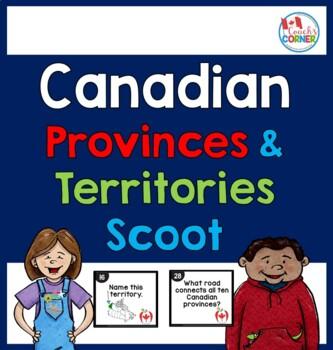 Canadian Provinces & Territories Scoot!