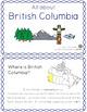 Canadian Provinces & Territories non-fiction emergent readers