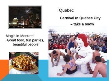 Canadian Provinces Tourism