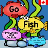 Canadian Provinces and Capitals - Bilingual