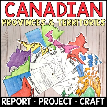 Canadian Provinces and Territories Fact Fans