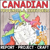 Canada: Provinces and Territories Fact Fans
