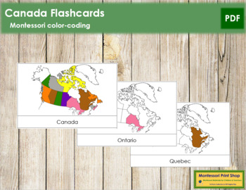 Canadian Provinces and Territories: Flashcards