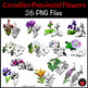 Canadian Provincial Symbols: Flowers for Canadian Provinces and Territories