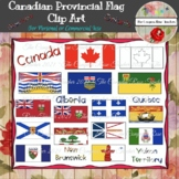 Canadian Provincial/Territorial Flags Clip Art for Commerc