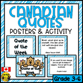 Canadian Quotes- Blue Version