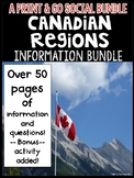 Canadian Regions: Information Bundle