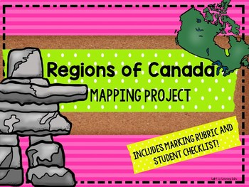 Canadian Regions: Mapping Project
