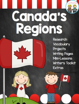 Canada's Regions ~ Canadian Regions Research, Mini-Lessons and More!