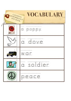 Canadian Remembrance Day Book
