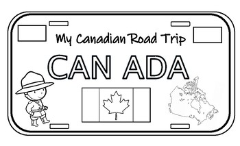 """Canadian """"Road Trip"""" License Plates"""