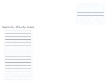 Canadian Social Studies Citizenship Brochure