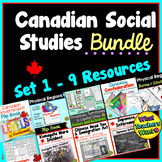 Canadian Social Studies Bundle - My Favourite Products at a Discount!