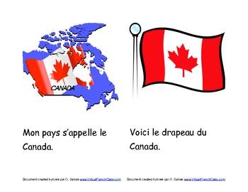 Livre sur les symboles du Canada /Canadian symbols (Ontario Version) Français
