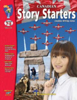Canadian Story Starters Grades 7-8 (Enhanced eBook)