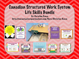 Canadian Structured Work System Secondary Starter Bundle: Life Skills - Autism