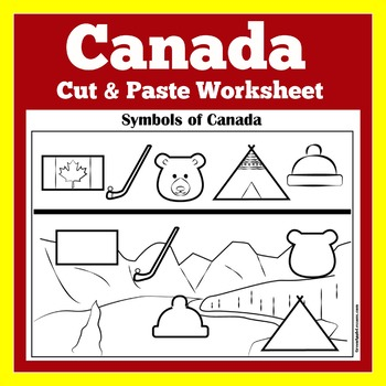 Canadian Symbols | Canada | Canada Worksheet | Canada Activity | About Canada