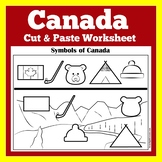 Canadian Symbols Worksheet | Canadian
