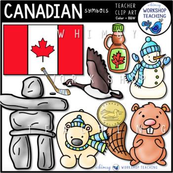 Canadian Symbols Clip Art