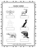 Canadian Symbols Cut & Paste