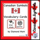 Canadian Symbols Vocabulary Cards